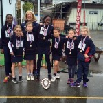 Netball victory under 10's