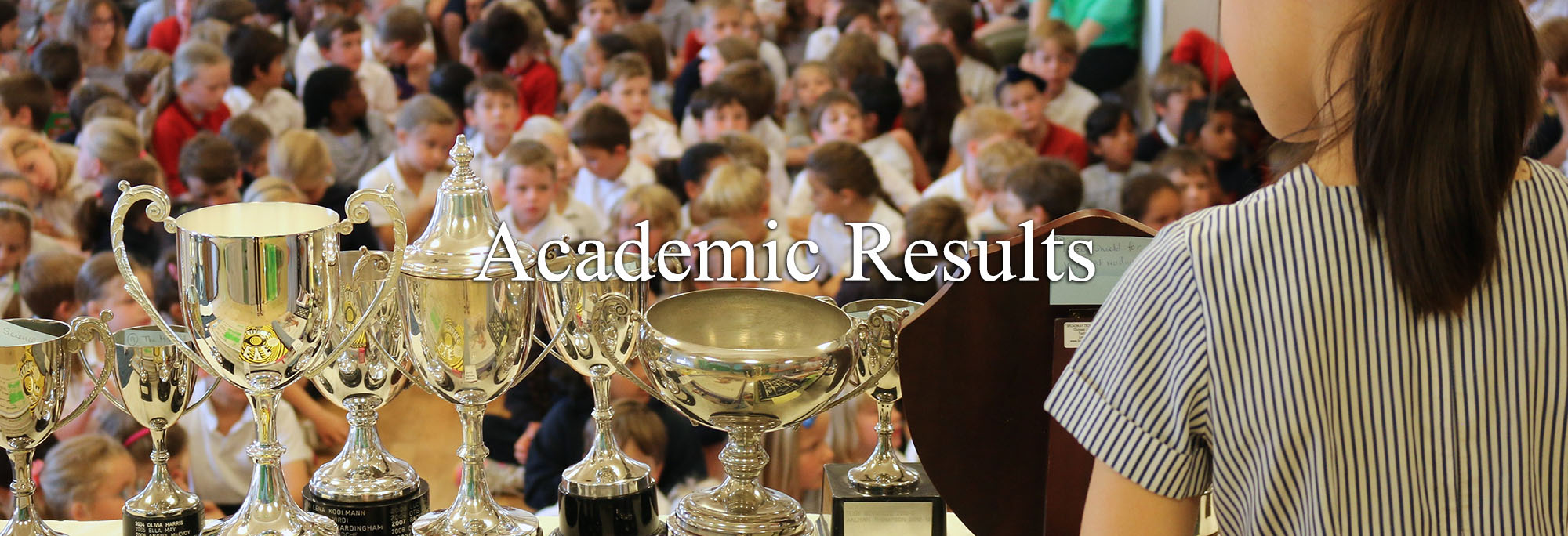 Academic Results Header