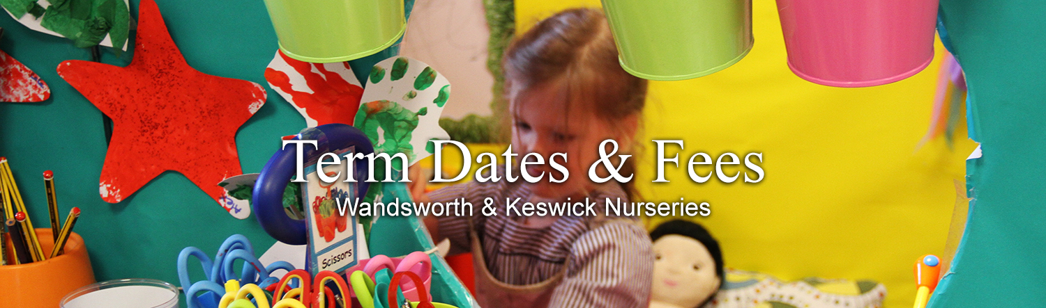 Nursery Term Dates Header