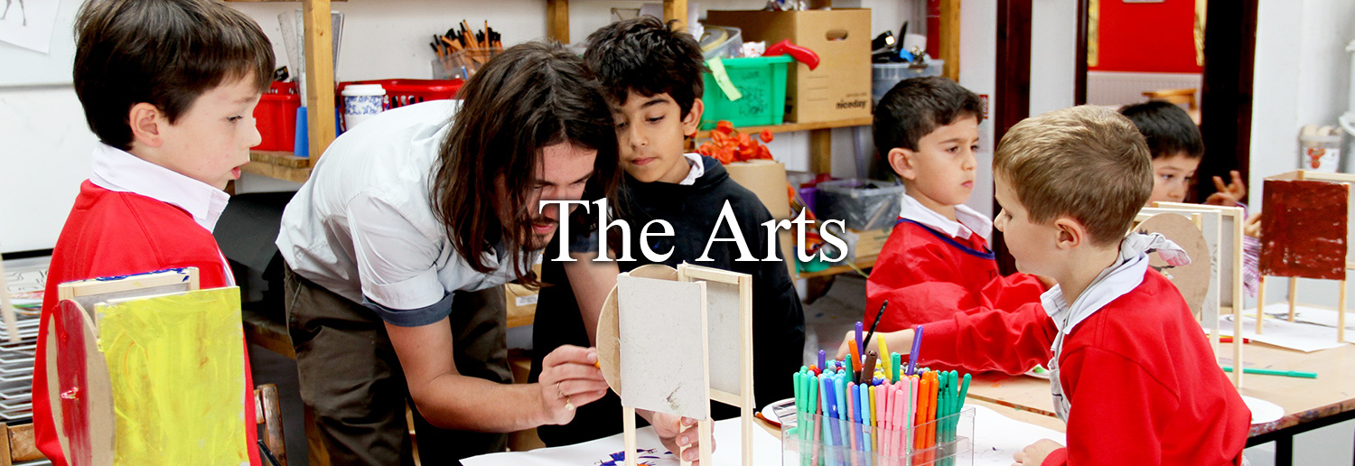 The Arts Header