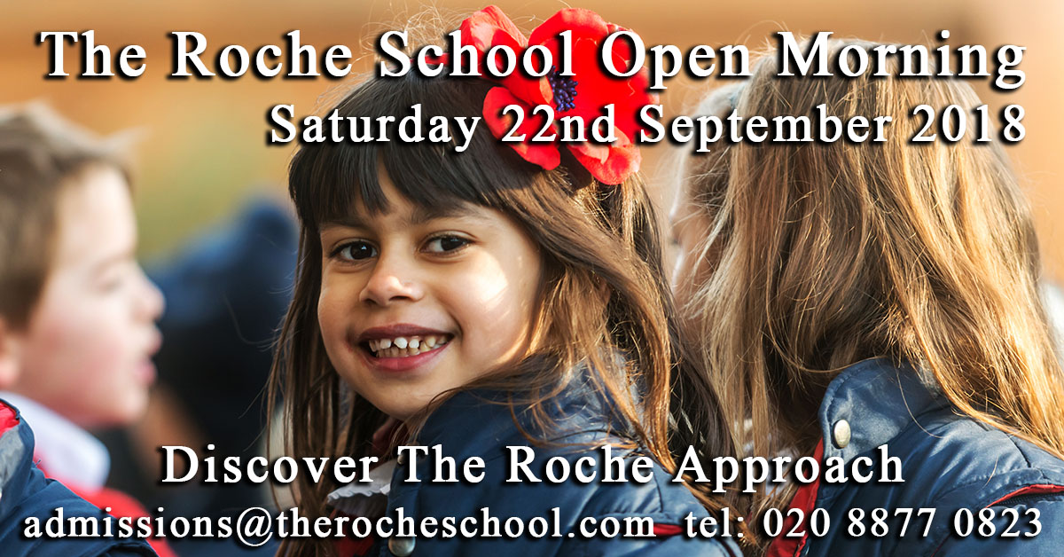 The Roche School, Frogmore, London SW18 1HW:   Overs
