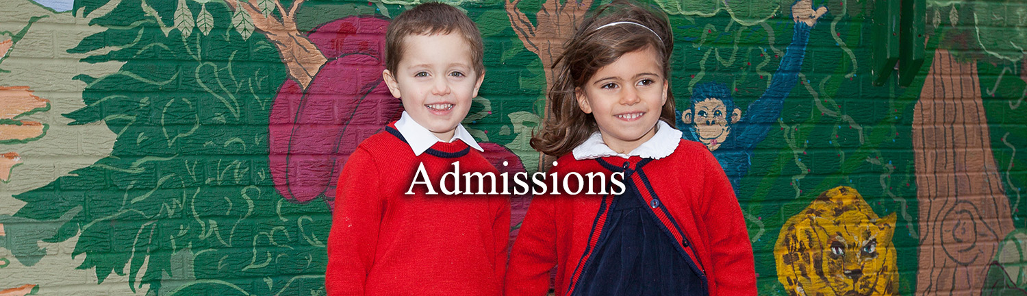 Admissions Header