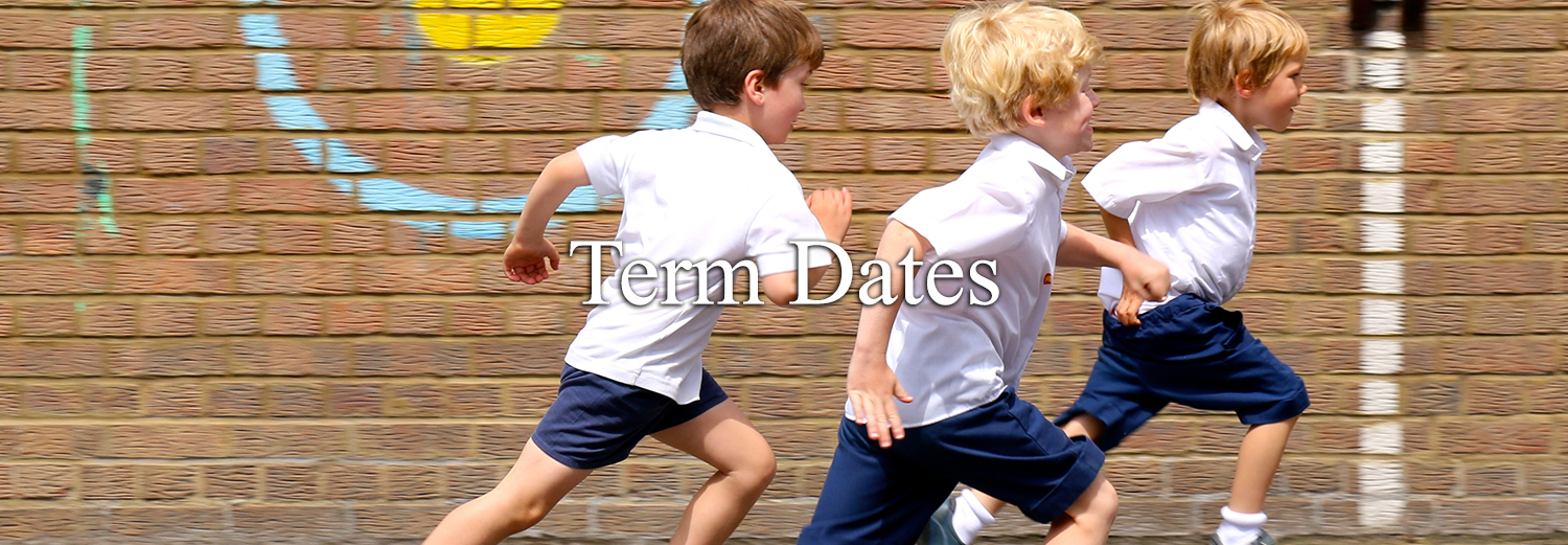 Term Dates Header