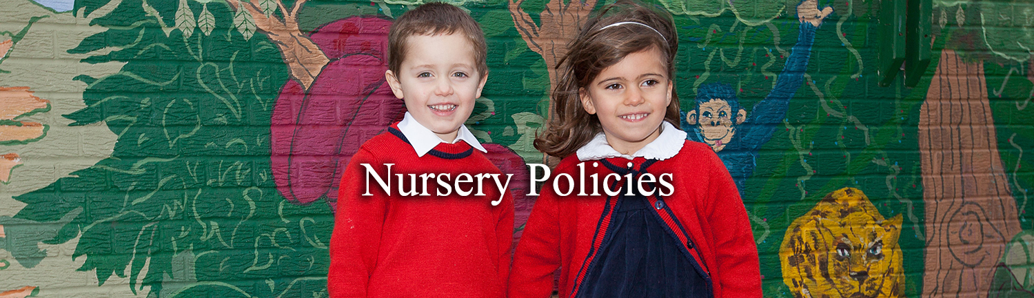 Nursery Policies Header