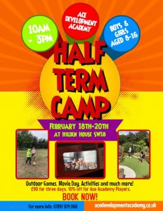 Half Term Sports and Activities Camp