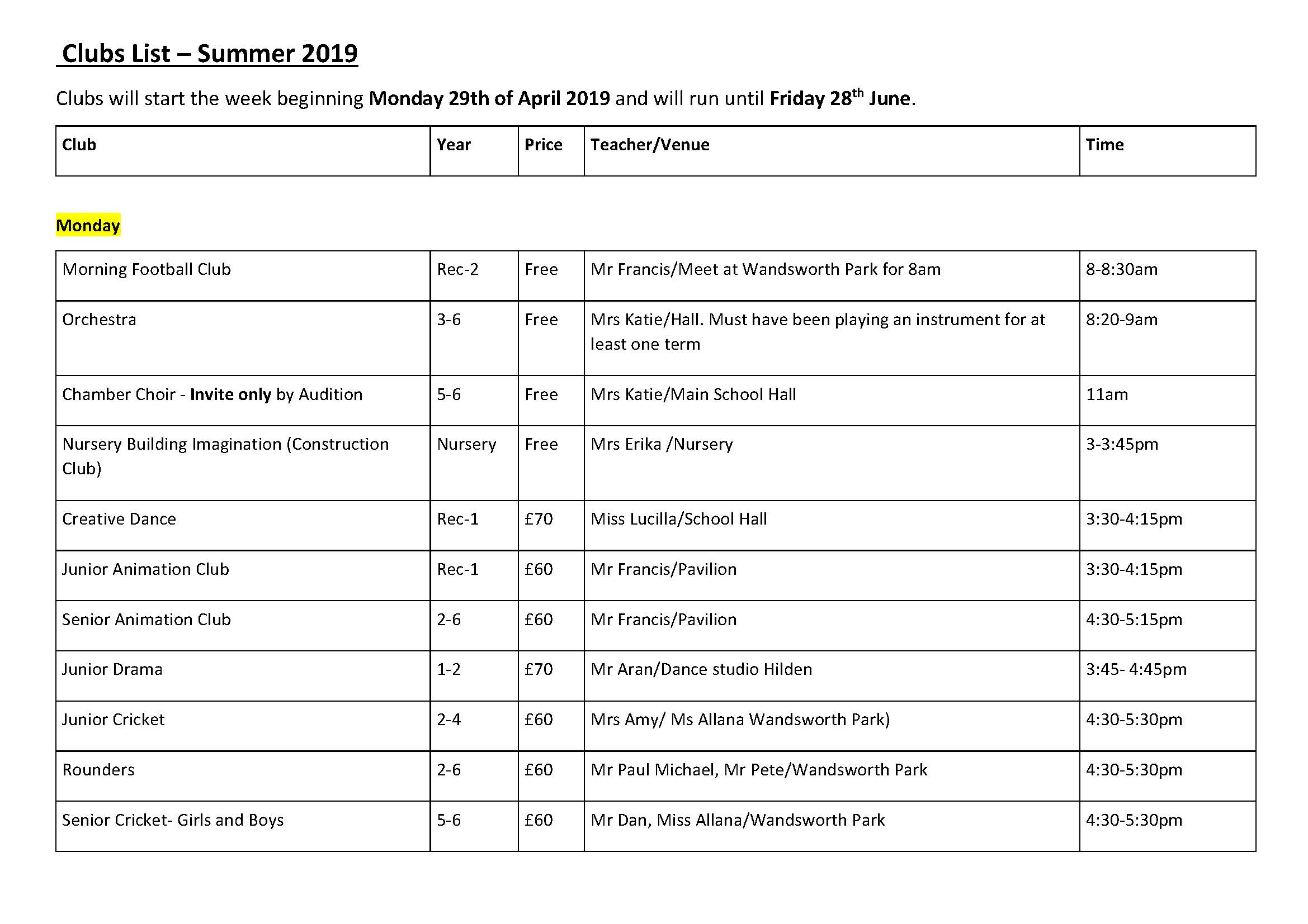 Clubs List Summer 2019_Page_1