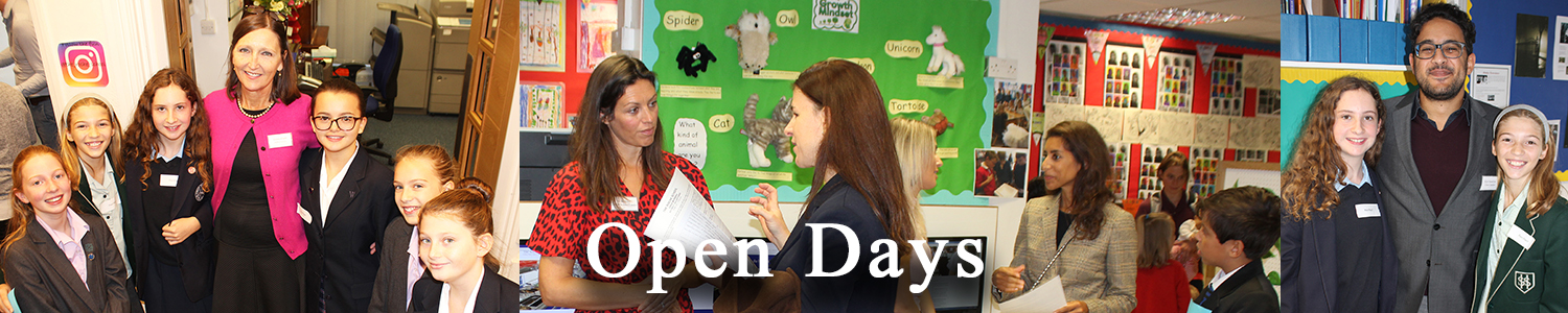 New Open Day Header